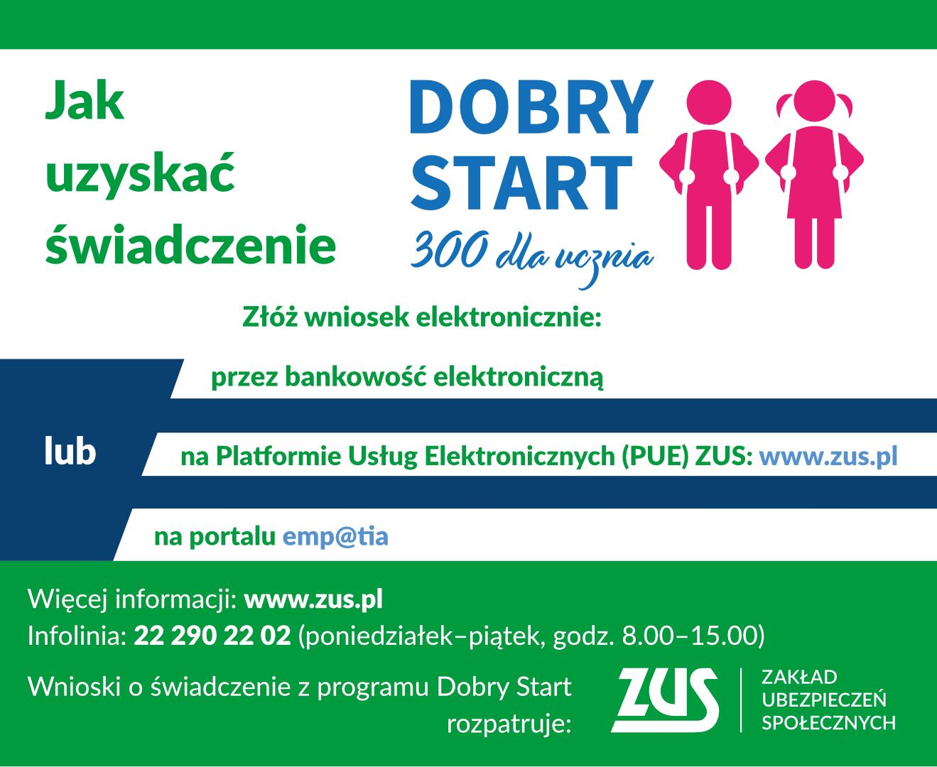 Program Dobry Start - ZUS