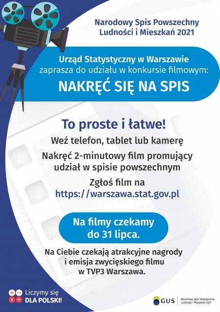 Konkurs filmowy: NAKRĘĆ SIĘ NA SPIS