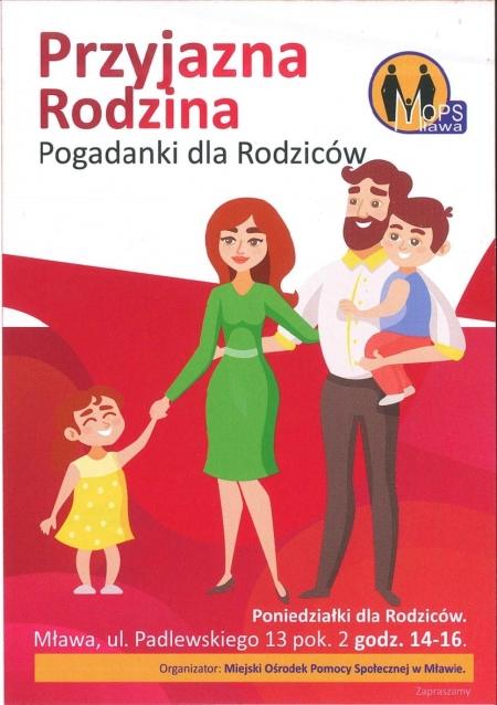 Przyjazna rodzina - pogadanki dla rodziców
